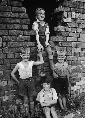 boys and bricks