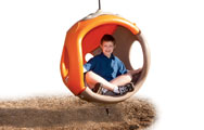 "A Playworld ""cocoon"" that appeals to all kids, including those with autism who want to get away from over-stimulation,"