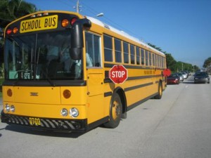 Why is it NEWS when a school bus drop off is not perfect?