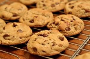 Those poor kids had to eat cookies and milk!