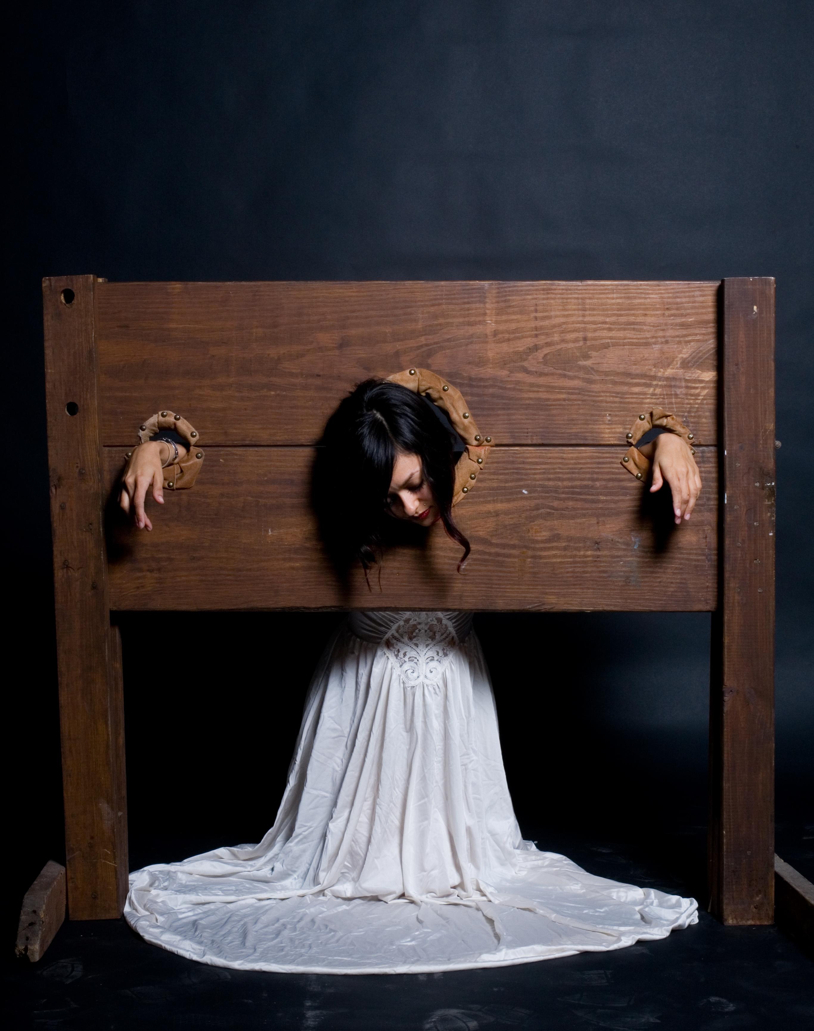Girls in stockade nude actress