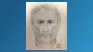 Police sketch of the Alexandria, VA killer.