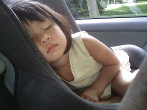Sometimes it is FINE to let sleeping kids lie. Photo source: Pixabay.