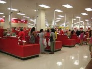 Can you leave kids outside the bathroom for a moment at Target?