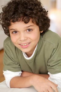 The boy on Law & Order