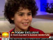 Izzy Skenazy, back when he rode the subway alone as a 9 year old.