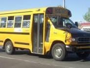Meet your kindergartener at the bus...or ELSE.