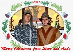 Merry Christmas. Come and get us!