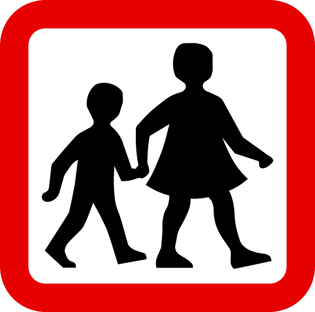 children walking sign | Free Range Kids