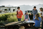 Why are campgrounds so much more Free-Range than some permanent communities?