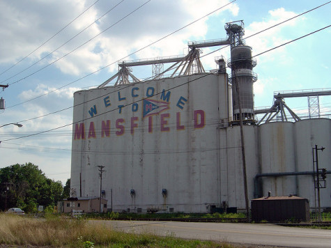 Welcome to Mansfield, OH, where there's even a MAN in its name! Terrifying!