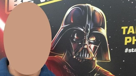 Darth Vader has nothing on this dad.