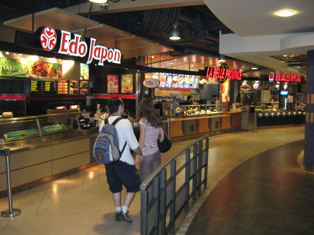 What Are The Restaurants In Food Courts Called