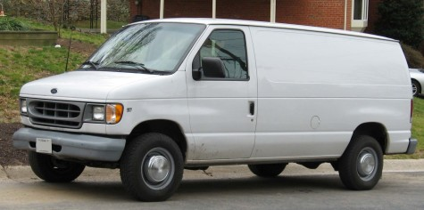 Did you know you cannot buy a white van without proof that you are a predator?