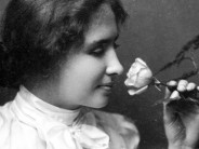 "Helen Keller: ""Life is a daring adventure, or nothing at all."" ""Okay, let's go with nothing at all!"" -- School"