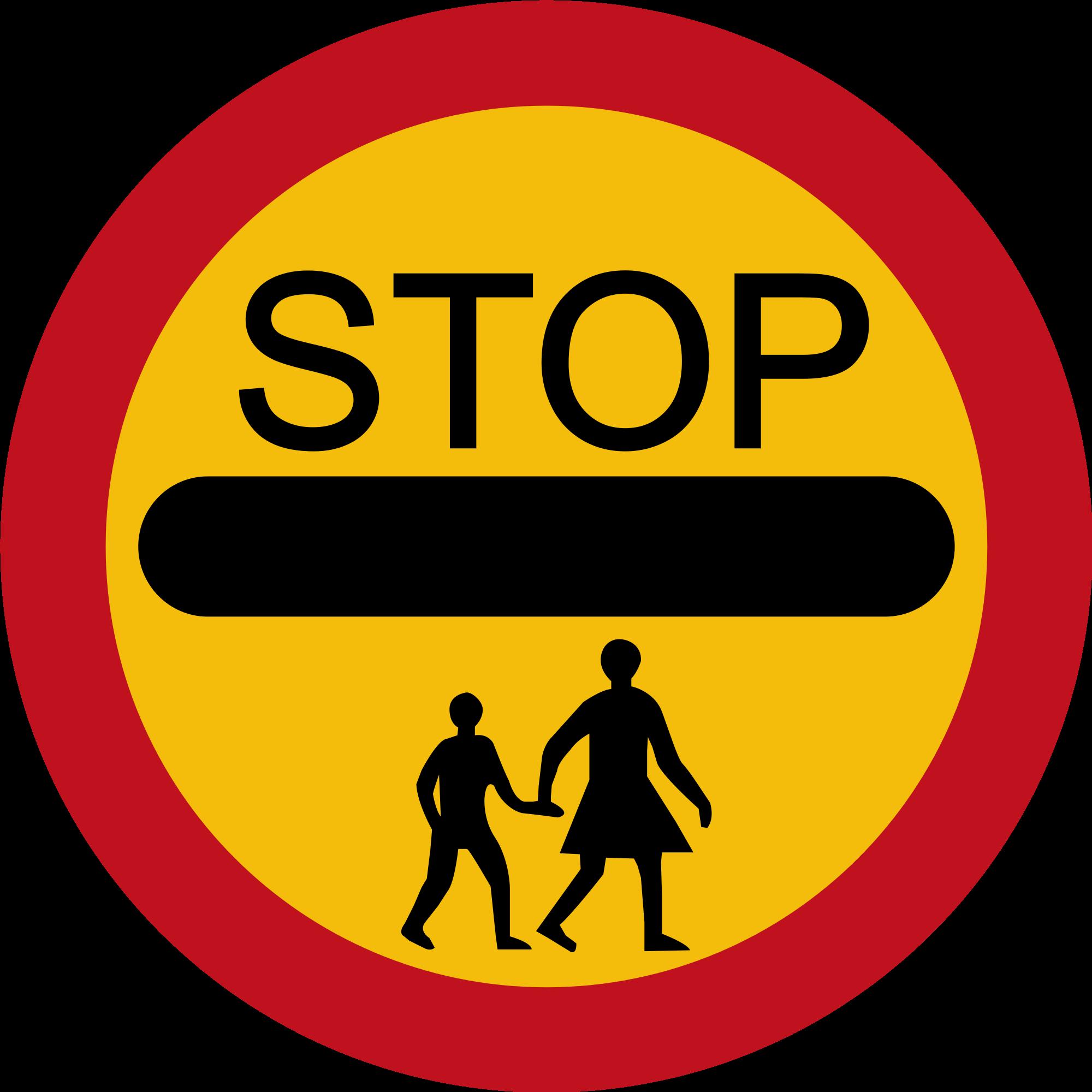 school crossing sign | Free Range Kids
