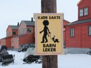 Please brake for Norwegian kids with pet snails.