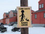Please brake for Norwegian kids with pet snails.