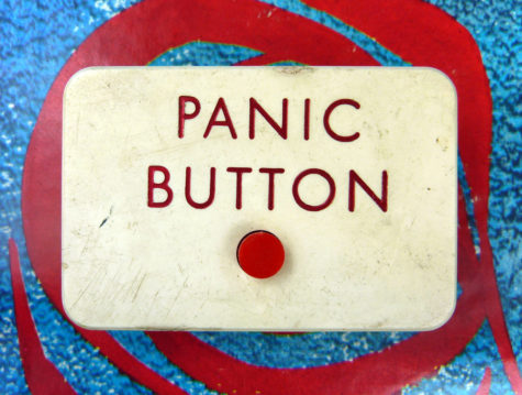 Every teacher in Shelbyville, IN, must wear a panic button around the neck.