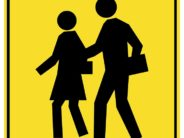 "Didn't ""School Crossing"" signs used to have younger looking silhouettes?"