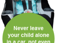Because so many dangers await the child left alone for 61 seconds.