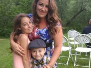 Melissa Lopez and two of her kids.s And yes, we can see they're not showing their teeth. That's not a crime.
