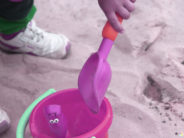 sandbox kid just hand