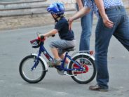 Are kids learning to ride bikes (or taking off their training wheels) later?