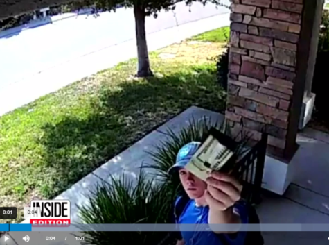 Teen Finds Wallet with $1500. Rings Bell of Owner — Who's Too Afraid of Strangers to Open Door