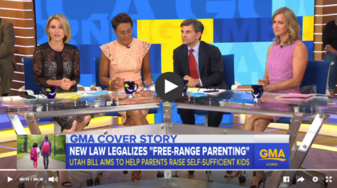 """Good Morning America's Cover Story: """"The Controversial Idea of Letting Kids Play Outside"""""""