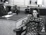 lie detecor 1940s movie woman