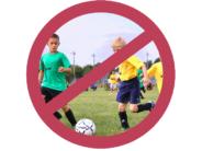 no soccer logo