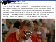 bad santa warning