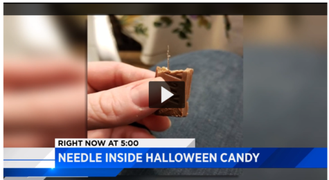 NEEDLES FOUND IN HALLOWEEN CANDY!!!!!  Yawn.