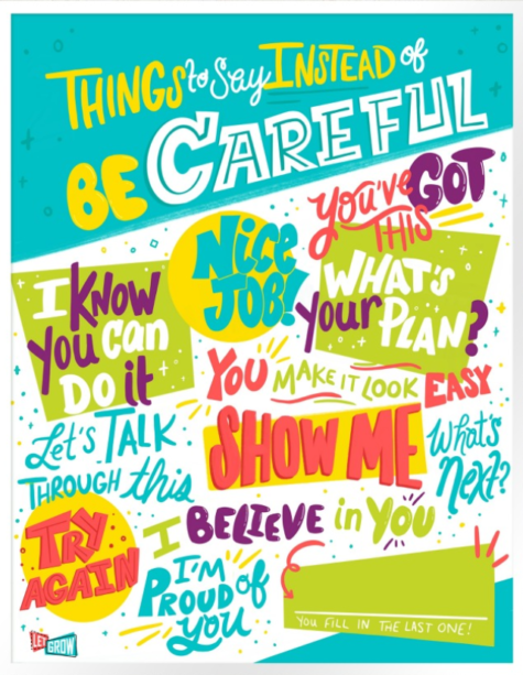 """""""Be Careful!"""" Is Worse than Useless Advice from Parents"""
