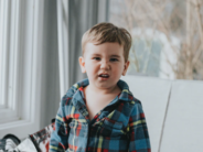 unsplash boy at home with funny expression