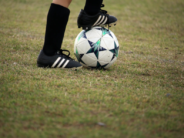 soccer unsplash foot and ball