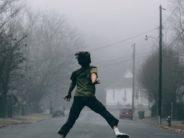 unsplash kid jumping